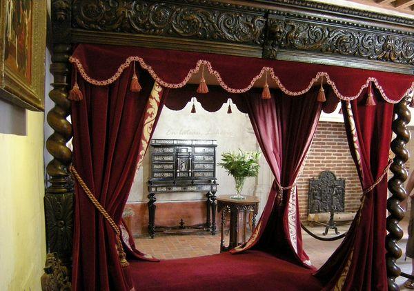 Clos Luce chambre Leonard Vinci