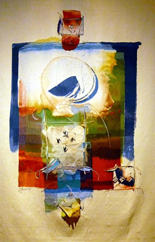 tapisserie abstraite