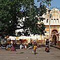 Le temple de Rama, célèbre prince du Ramayana