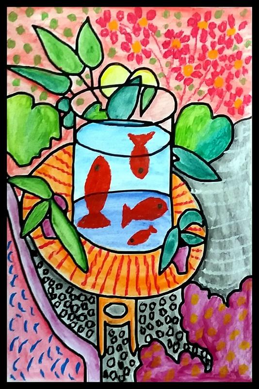 253_Compositions abstraites_Les poissons de Matisse (58)-001