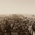 Vers le bas ... je vois new york