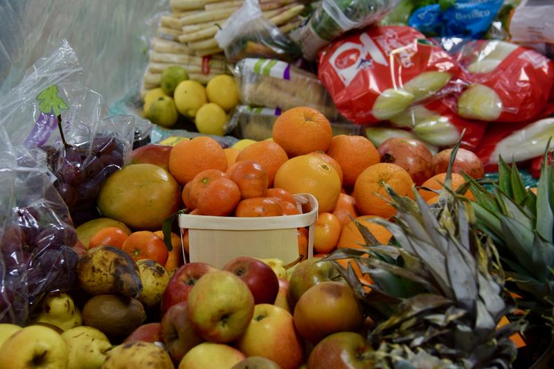 ÉPICERIE SOLIDAIRE CORONAVIRUS 2020 fruits