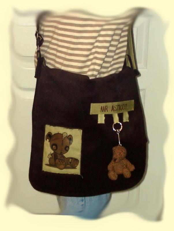 mon sac aprés customisation