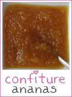 confiture ananas - vanille - index