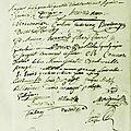 Le 23 août 1789 à mamers : renouvellement de la municipalité ( 3 ).