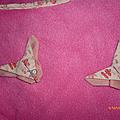 Mes papillons en origami
