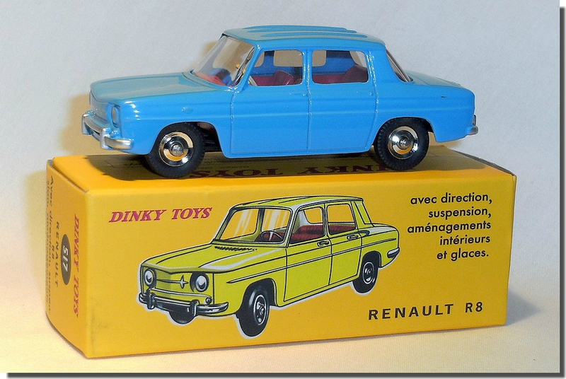 Dinky Atlas Renault R8 bleue A 01