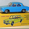 Dinky Atlas Renault R8 bleue A 01