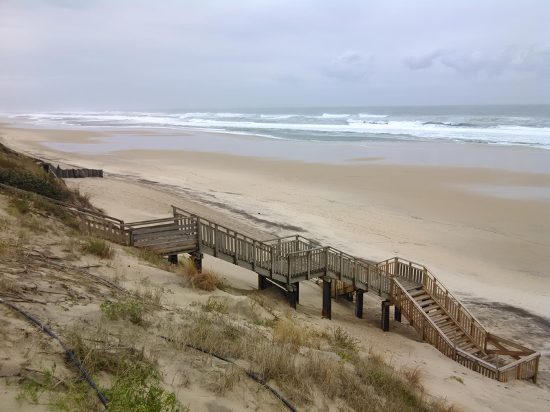 Photo-passerelle-descente-plage-biscarosse-plage