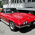 Chevrolet corvette sting ray convertible 1965-1966