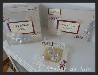 decoration arabesques plumes et orchidees mariage