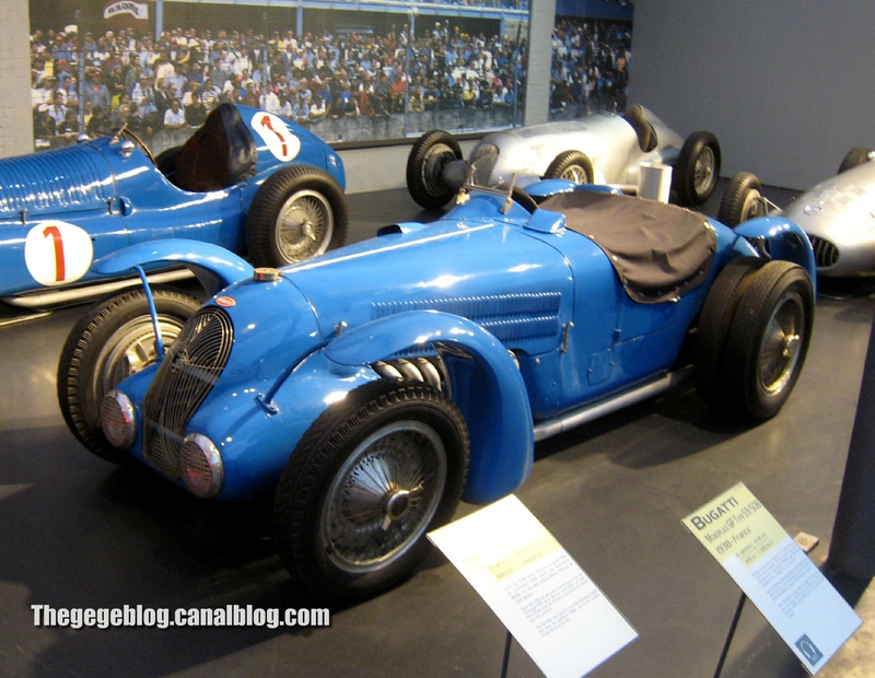 Bugatti type 59-50B monoplace GP de 1938 (Cité de l'Automobile Collection Schlumpf à Mulhouse) 01