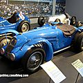 Bugatti type 59-50b monoplace gp de 1938 (cité de l'automobile collection schlumpf à mulhouse)