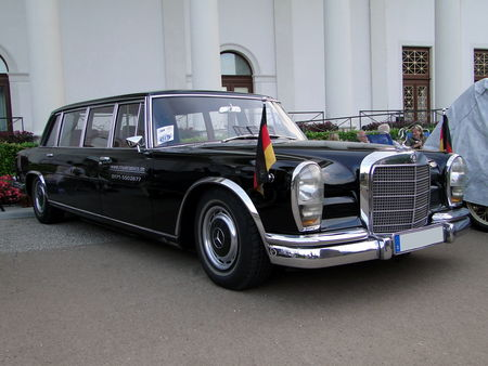 MERCEDES- BENZ 600 Pullman 1965 Internationales Oldtimer Meeting Baden-Baden 2009 1