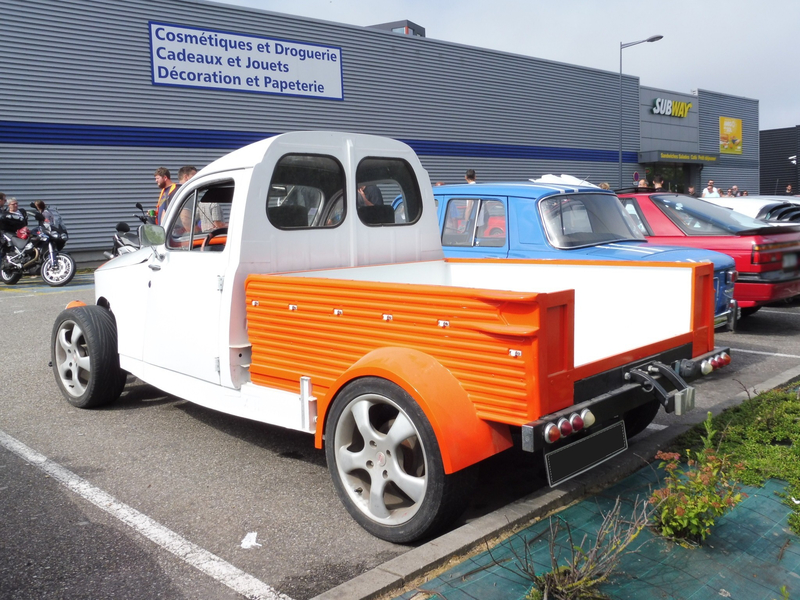 PEUGEOT 203 pick-up Custom Mulhouse (2)