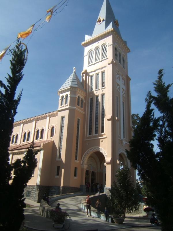 La cathédrale de Dalat