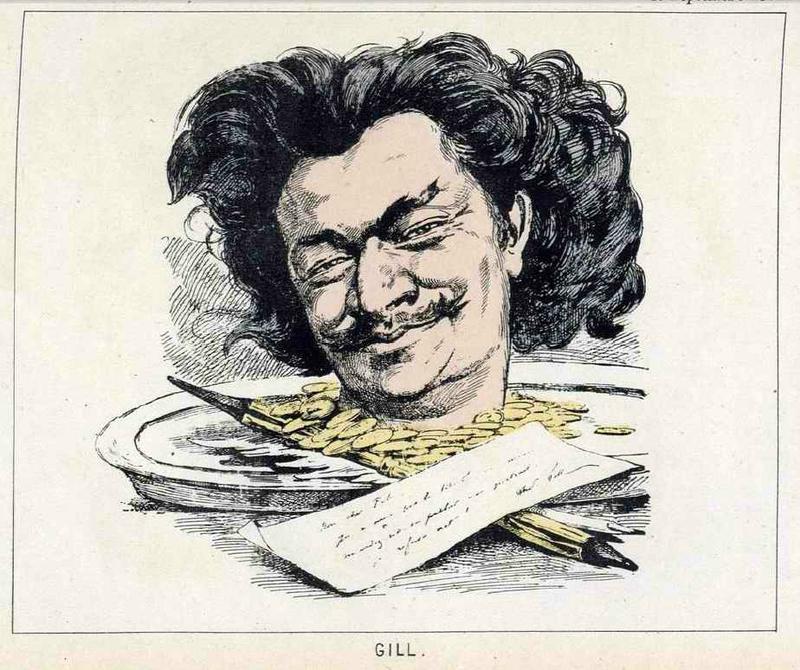 Gill autoportrait