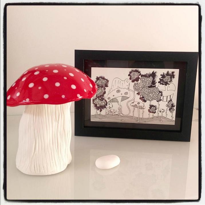 champignon ceramique illus lilitarentule