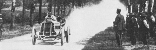 1903 paris-madrid - charles jarrott (de dietrich) 4th 2
