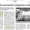 Trafic maritime transmanche: les ports normands à la veille d'un (éventuel) brexit