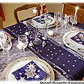 Concours decoration de ma table de noel