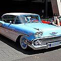 Chevrolet bel air hardtop sedan 2 door de 1958 (RegioMotoClassica 2011) 04