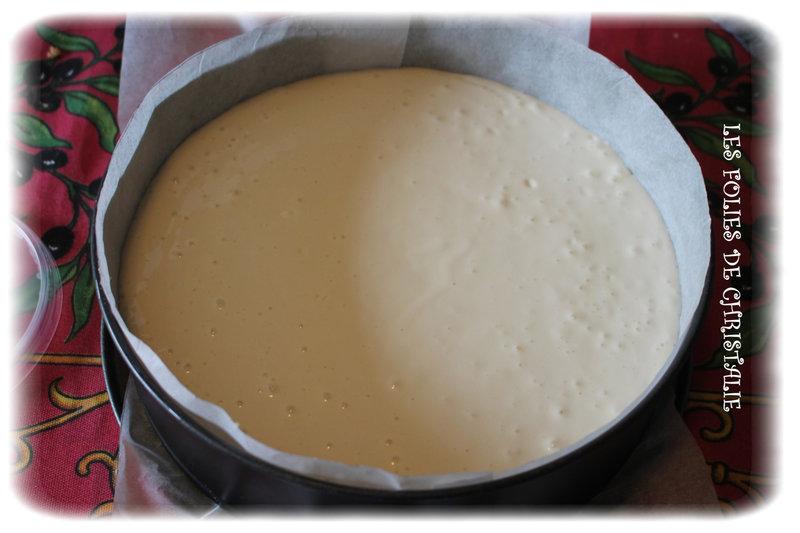 Cheesecake cerises 5