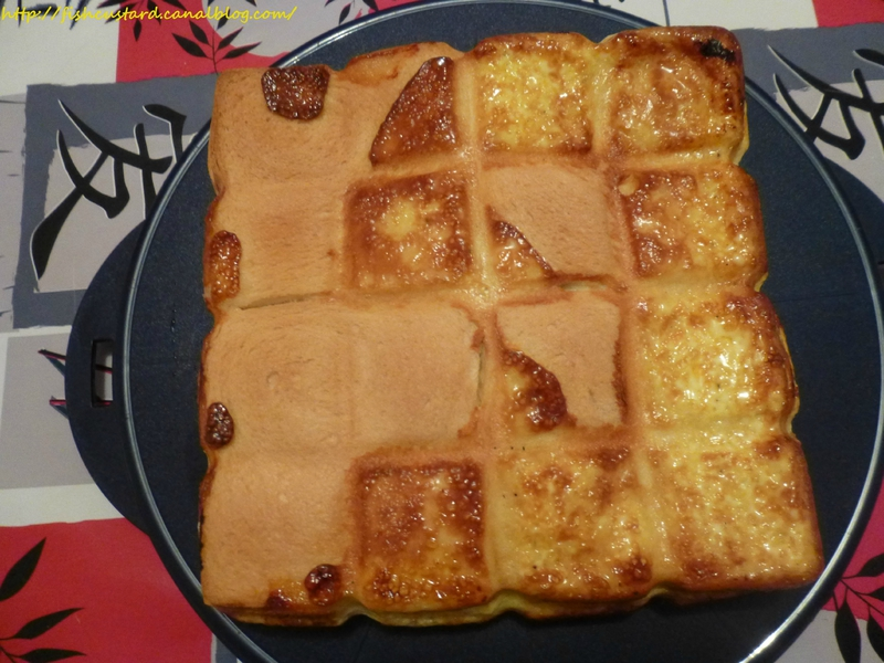 Croque-cake jambon-fromage (moule tablette) (10)