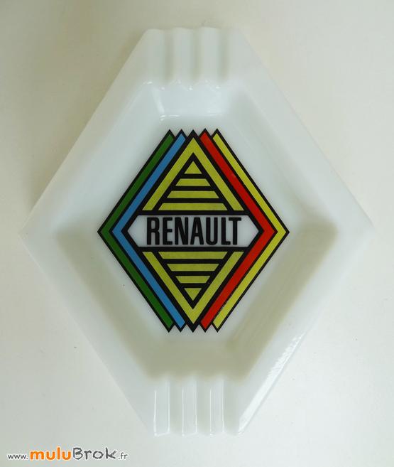 RENAULT-Cendrier-rare-Objet-pub-3-muluBrok-Vintage