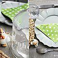 * dresser une jolie table pour pâques!