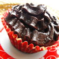 Chocolate brownie cupcakes / the challenge 125 best cupcakes