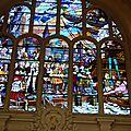 le vitrail de Jean Bart à la mairie de Dunkerque
