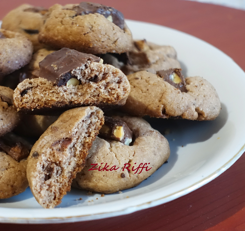 biscuits moelleux chocolat amandes 1