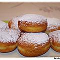 Boules de berlin - beignets de carnaval