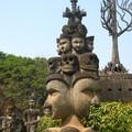 Vientiane - parc des buddahs
