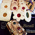 Biscuits vitraux ou miroir