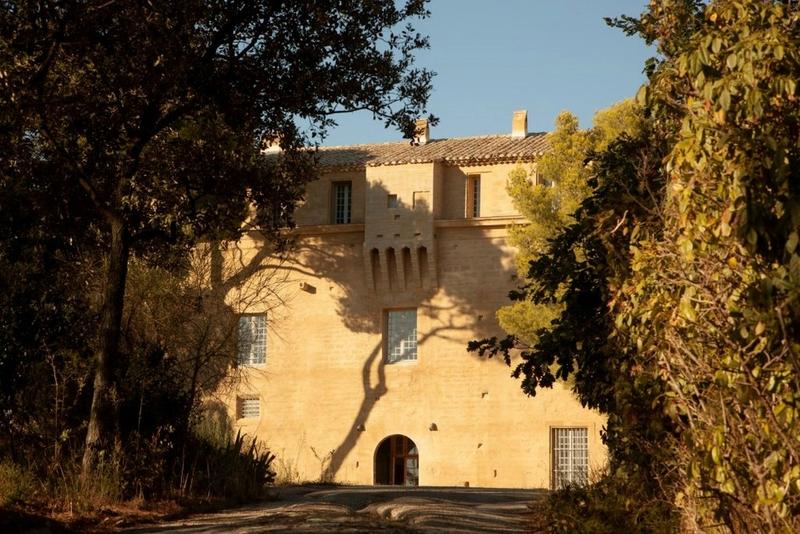 chateau saumane