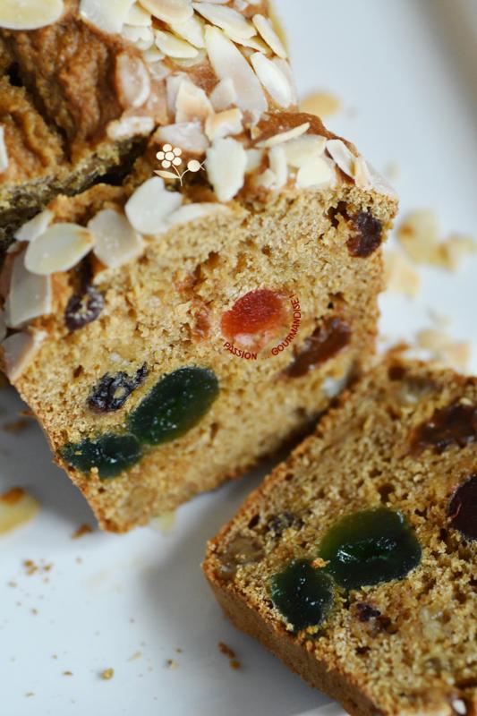 Cake épicé aux fruits confits, raisins secs & patate douce_1