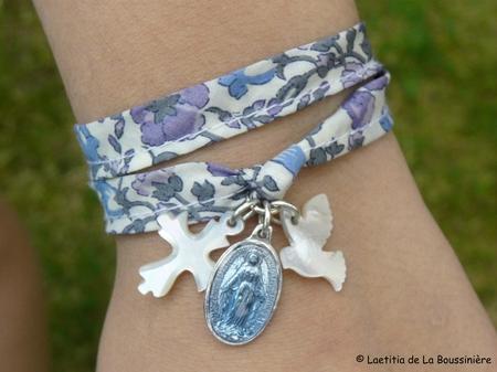 Bracelet de l'Annonciation (porté) - 35 €