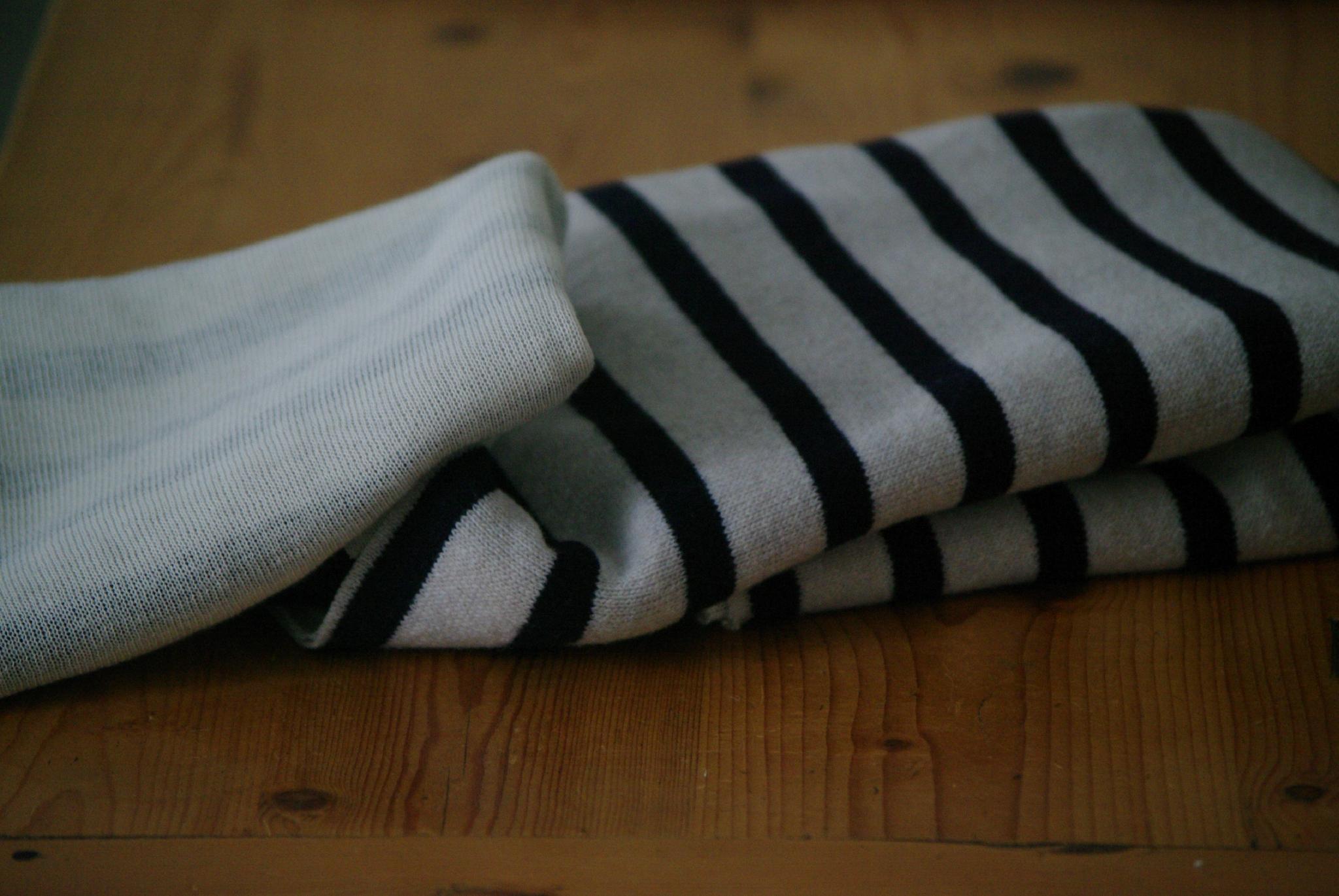 tissu lainage marin
