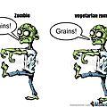 Végane vs zombie
