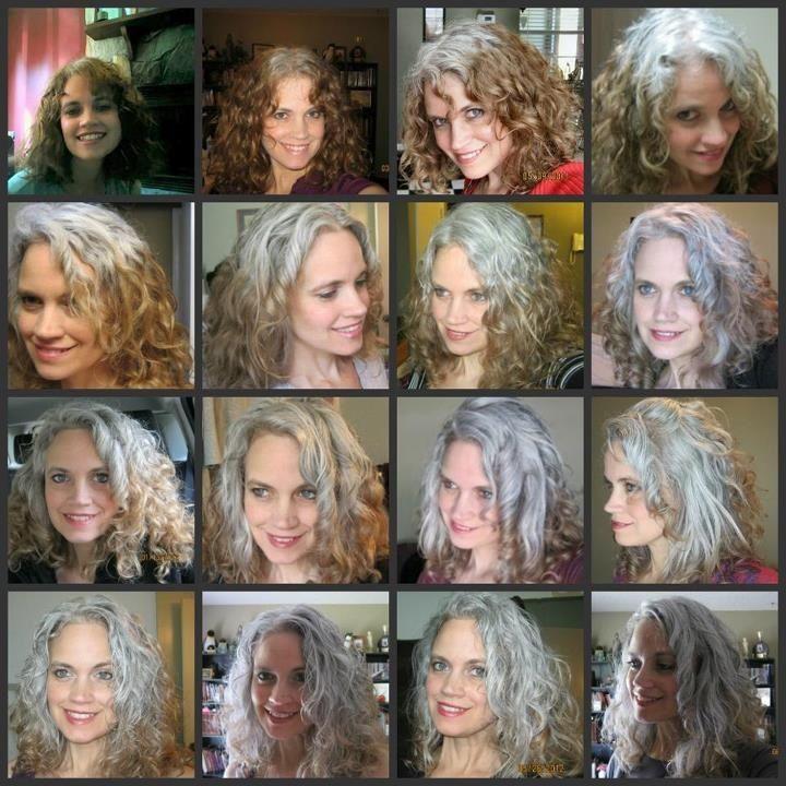 Faire ses cheveux en gris