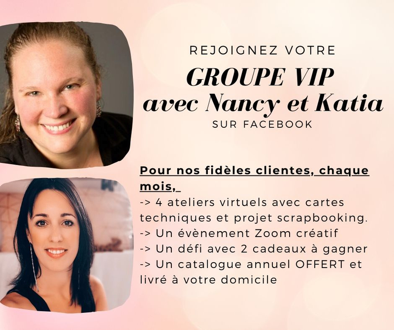 Nancy et Katia VIP