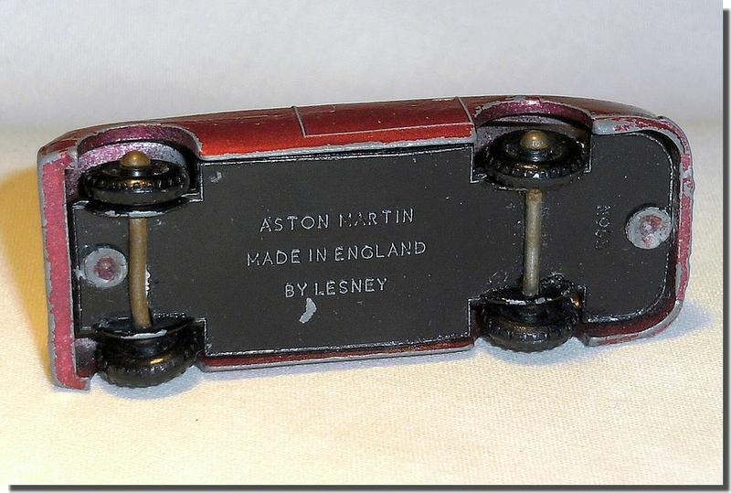 53 A Lesney Matchbox Aston Martin 05