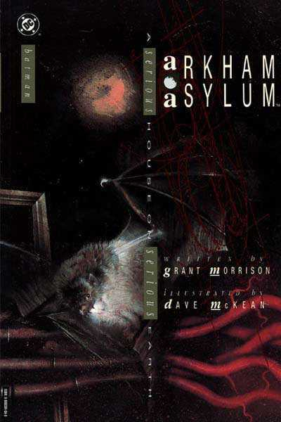 batman arkham asylum TPB 5th print