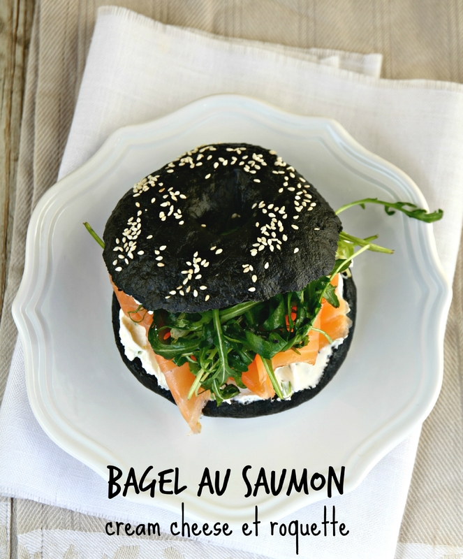 bagel au saumon