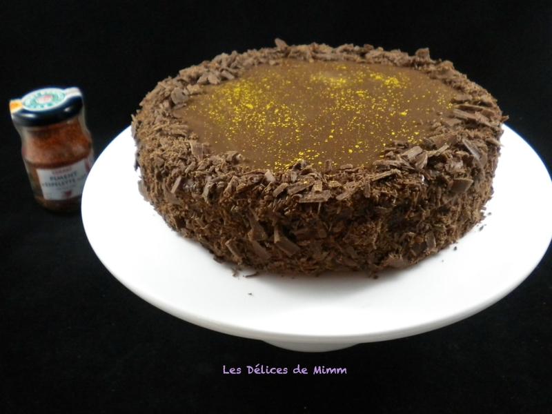 Gâteau la Forêt Basque