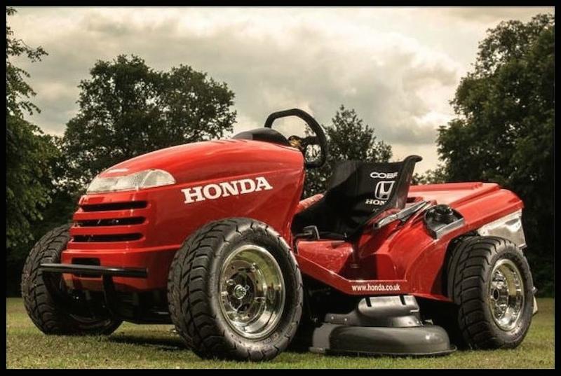 honda mean mower 2