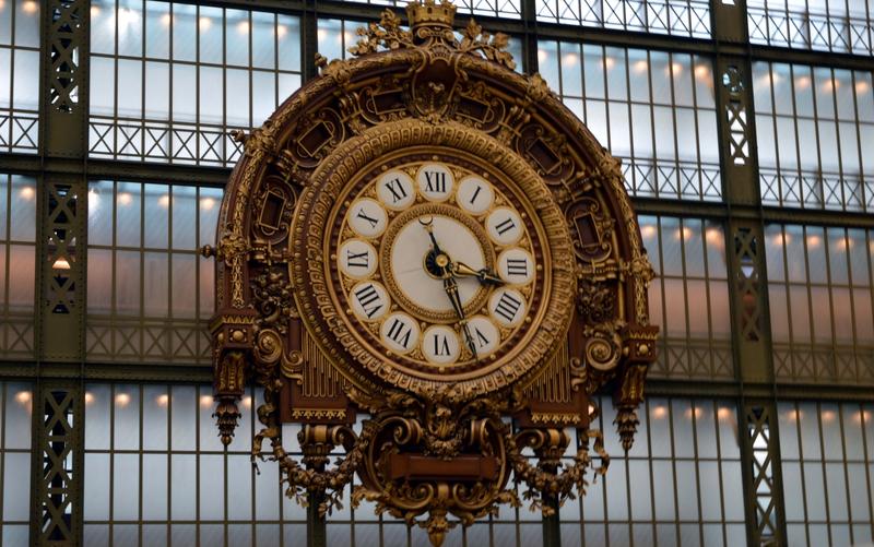Pendule Musée d'Orsay