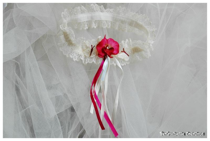 Jarretière mariage